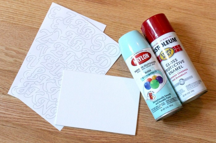 DIY Mother's Day Gift: Supplies For A Mom Painted Canvas Gift