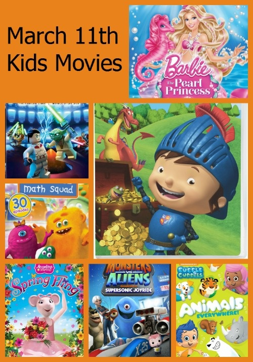 March Releases: Movies for Kids & Families on DVD