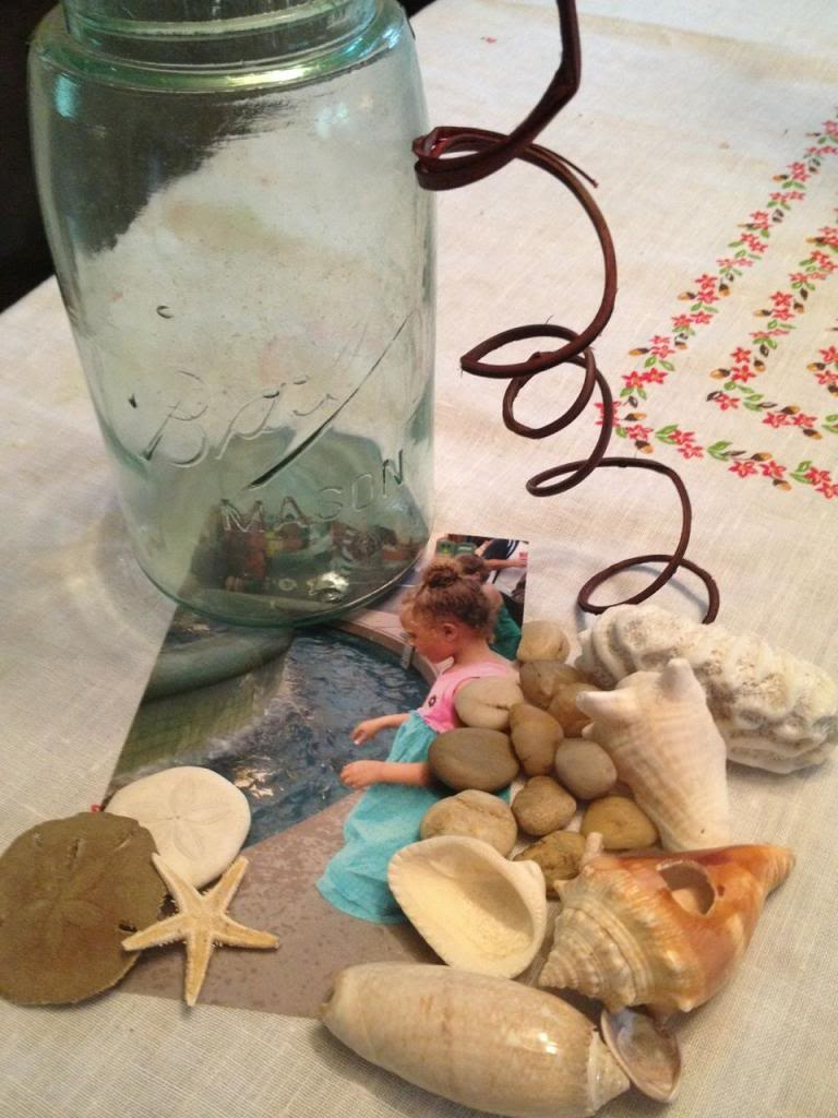 Summer Craft for Kids: How to Make a Vacation Memory Jar Supplies