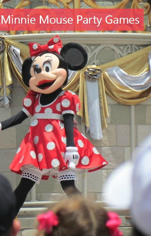 Fun Minnie Mouse party games for your Disney fans