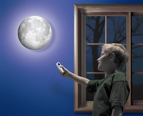 Moon in my room is one of the coolest space toys for toddlers!