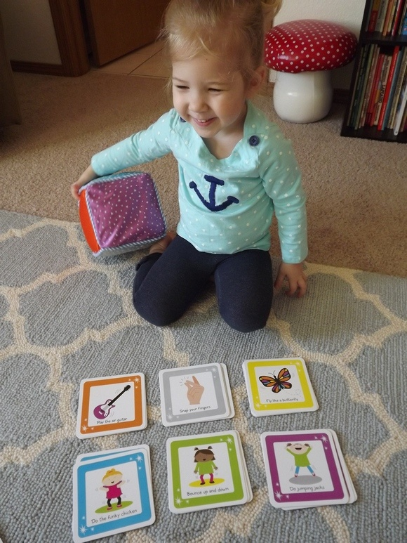ThinkFun Move & Groove: A Fun First Dance Game for Kids