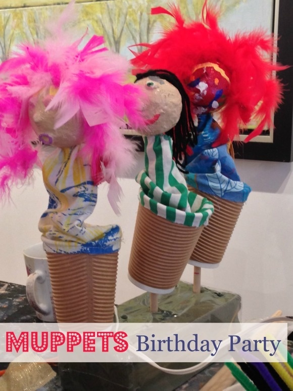 Muppets Birthday Party for Kids: Create Your Own Muppets!