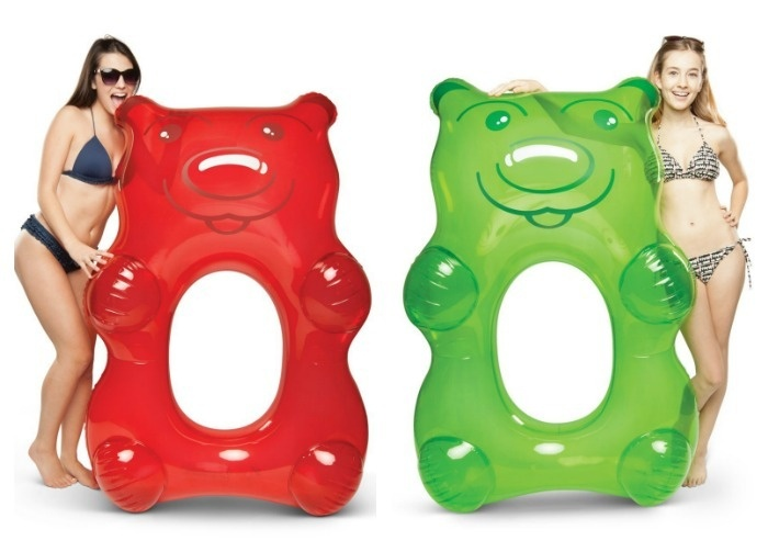 Summer Pool Party Ideas: Gummy Bear Pool Float