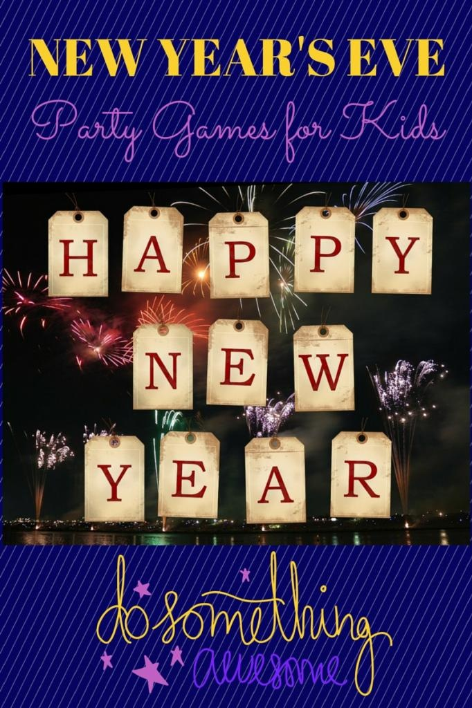 Looking for fun New Year's party games for kids that don't cost a fortune or take hours to pull together? Ours range from crafts that use items around the house to games that require little more than a wild imagination! New Year's is a wonderful time to hang out with the kids and throw a party.