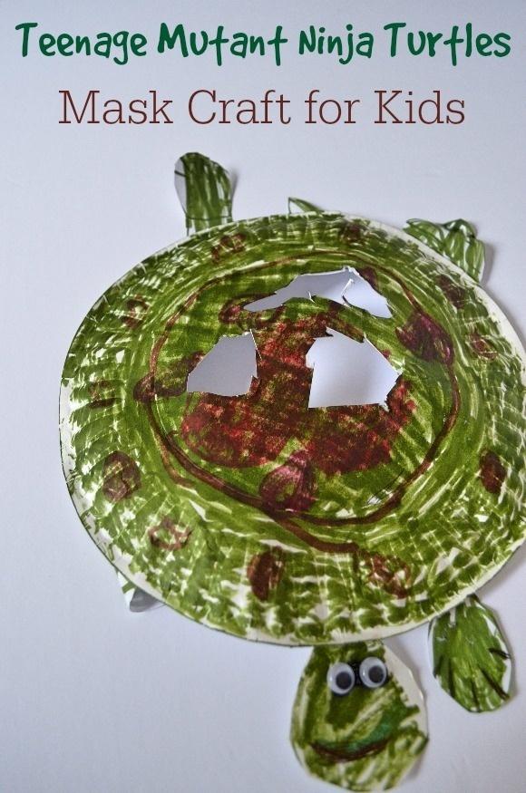 Ninja Turtles Craft for Kids: Make Your Own Cool Ninja Turtles Mask