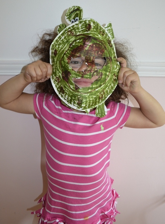 Teenage Mutant Ninja Turtles Party Games: Mask Decorating Contest