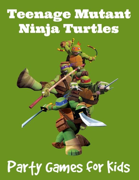 Teenage Mutant Ninja Turtles Party Games