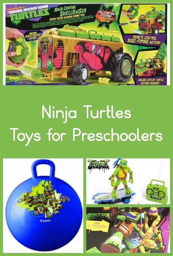 Teenage Mutant Ninja Turtles Toys for Preschoolers