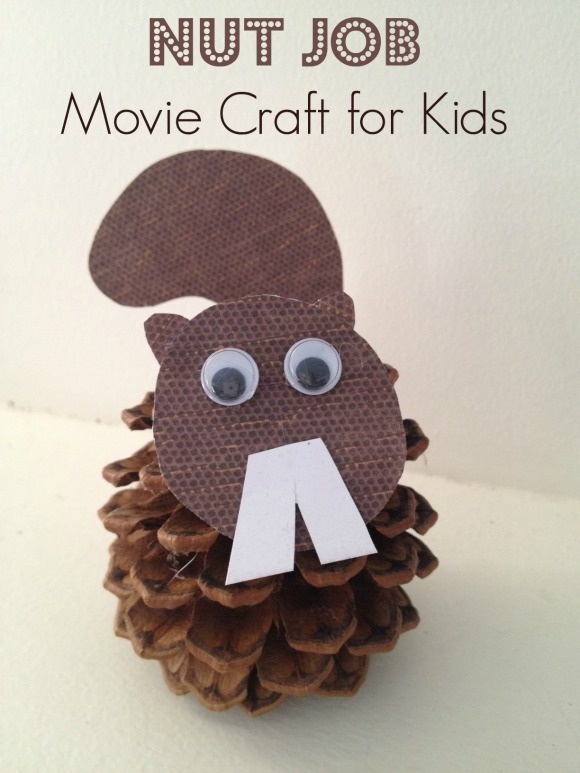 Nut Job Inspired Movie Craft for Kids