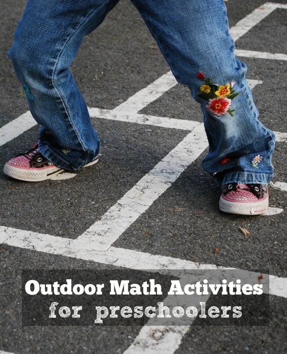 Outdoor Math Activities for Your Preschooler