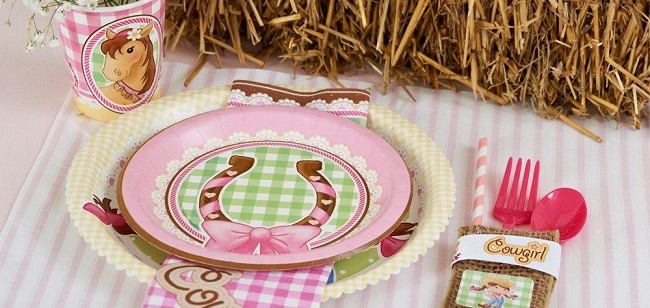 Pink Cowgirl Party Supplies at Birthday Express: pink cowgirl party ideas