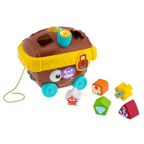 Pirates Treasure Chest Learning toys for Toddlers