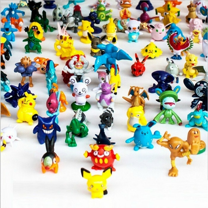 Pokemon Party Ideas: Play Pokemon Go in real life with these Pokemon figurines.