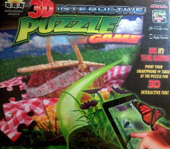 Popar 3D Interactive Puzzle Games