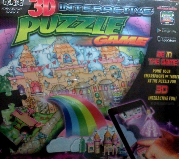 Popar 3D Interactive Puzzle Games Princess Puzzle