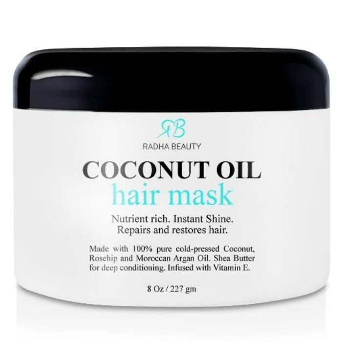 Natural Hair Healthy Ideas: Radha Beauty Coconut Oil Hair Mask