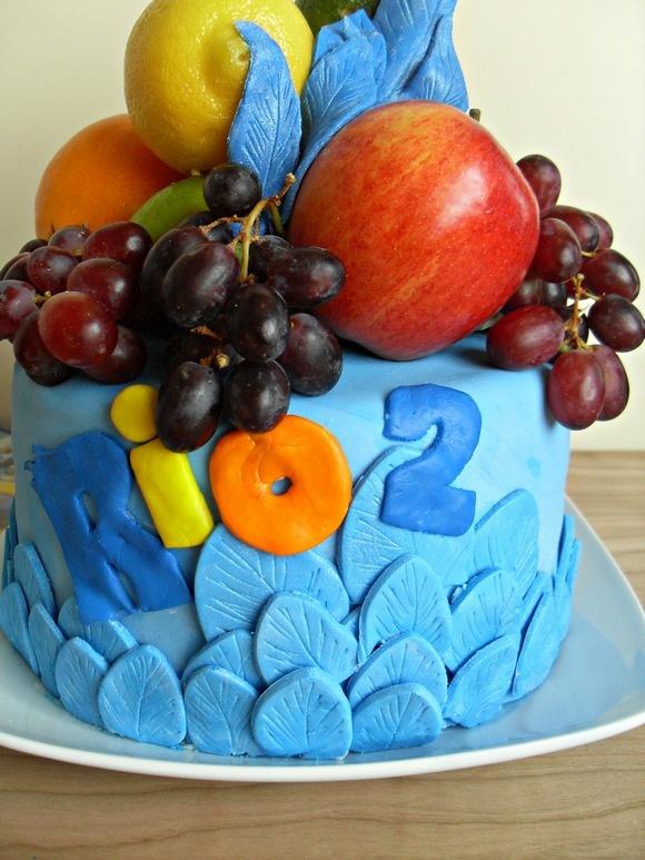 Rio 2 Movie Party Cake: Make & Decorate a Beautiful Rio-Themed Cake