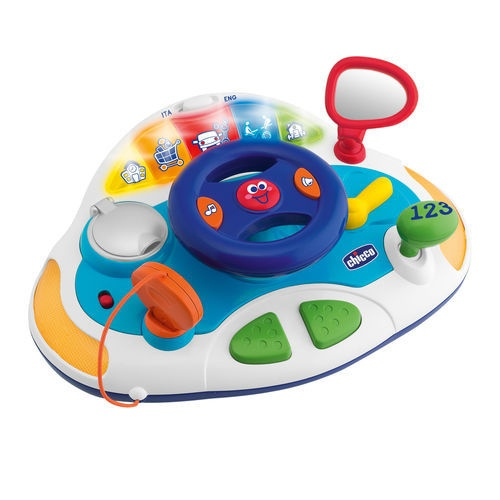 Bilingual Smart Driver Learning Toys for Toddlers