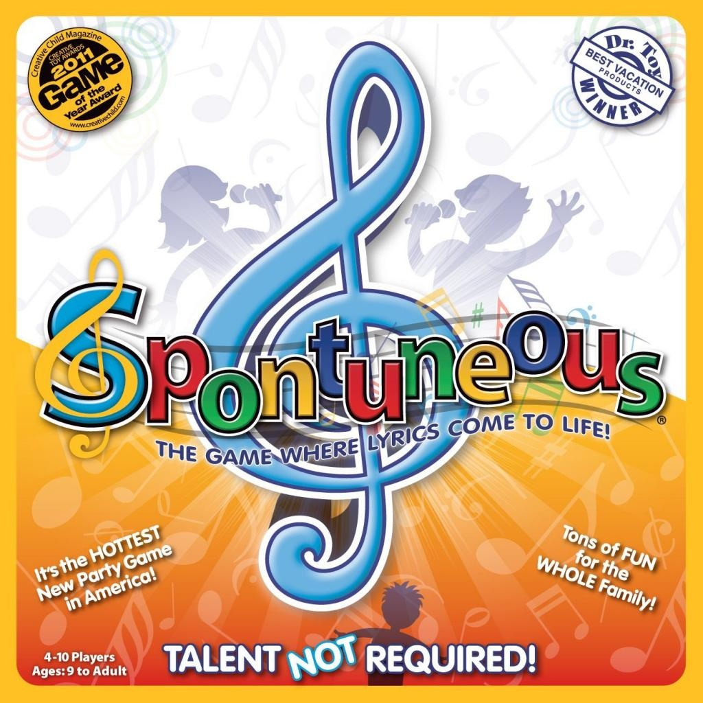 Best Party Board Games For Kids: Spontuneous