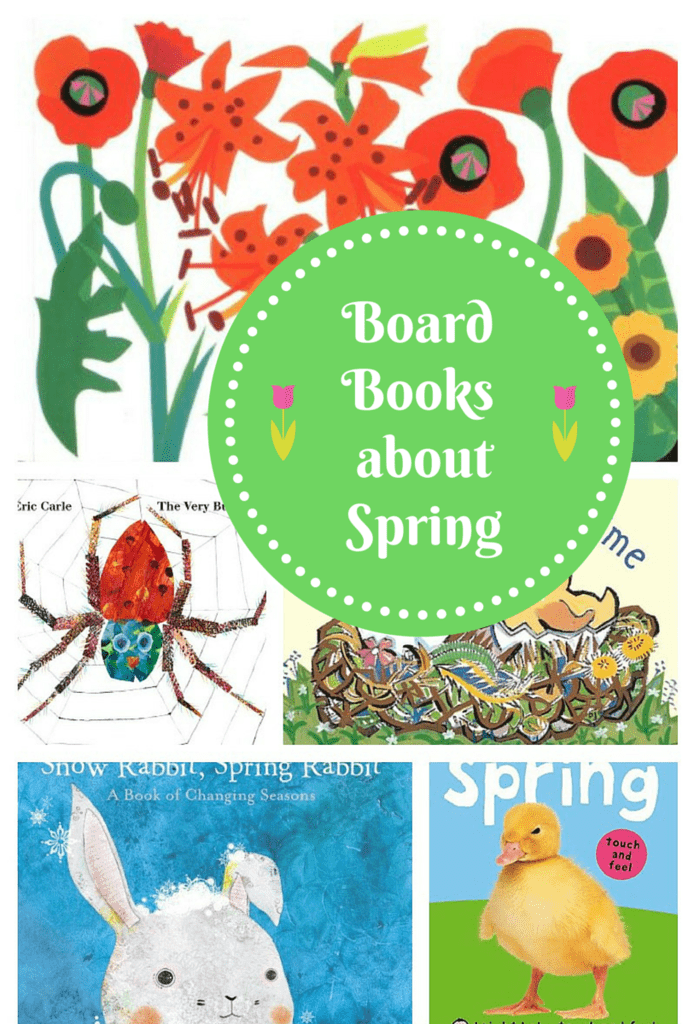 We're sharing a few of our favorite spring board books for babies! They're perfect for introducing the season to your little ones and encouraging literacy!
