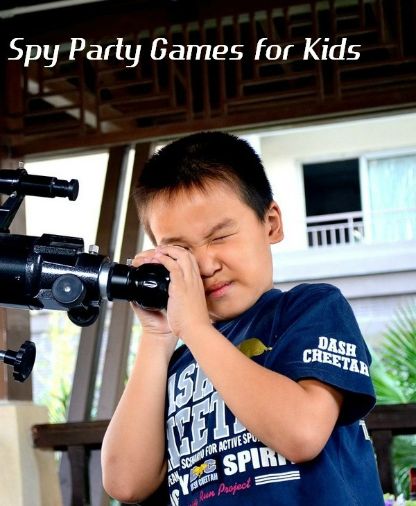 Suspense-Filled Spy Party Games for Kids | MyKidsGuide.com