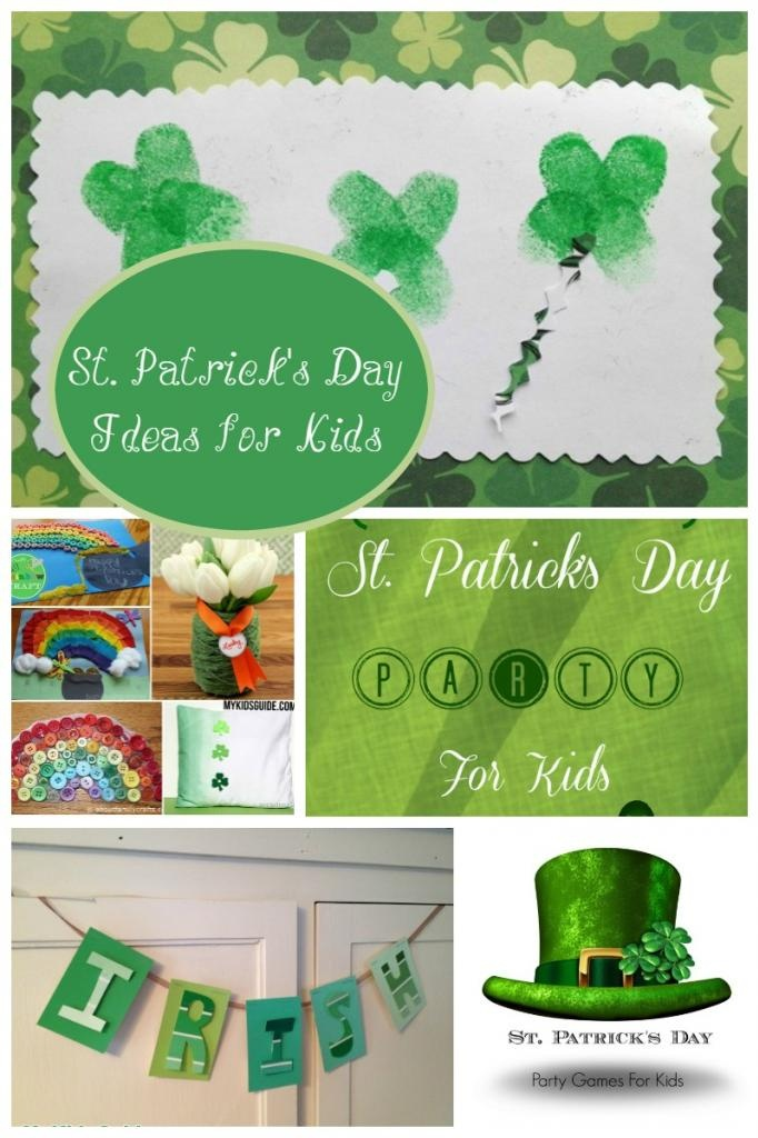 Looking for loads of great ideas for St. Patrick's Day fun for kids? We have you covered with fun crafts and party game ideas to show off your Irish Pride!