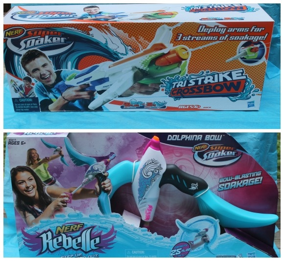 Summer Toys for Kids: Super Soakers from Hasbro