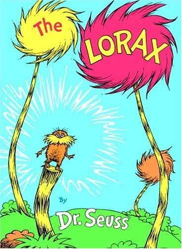 The Lorax by Dr. Seuss is one of the best kids books about protecting the environment!