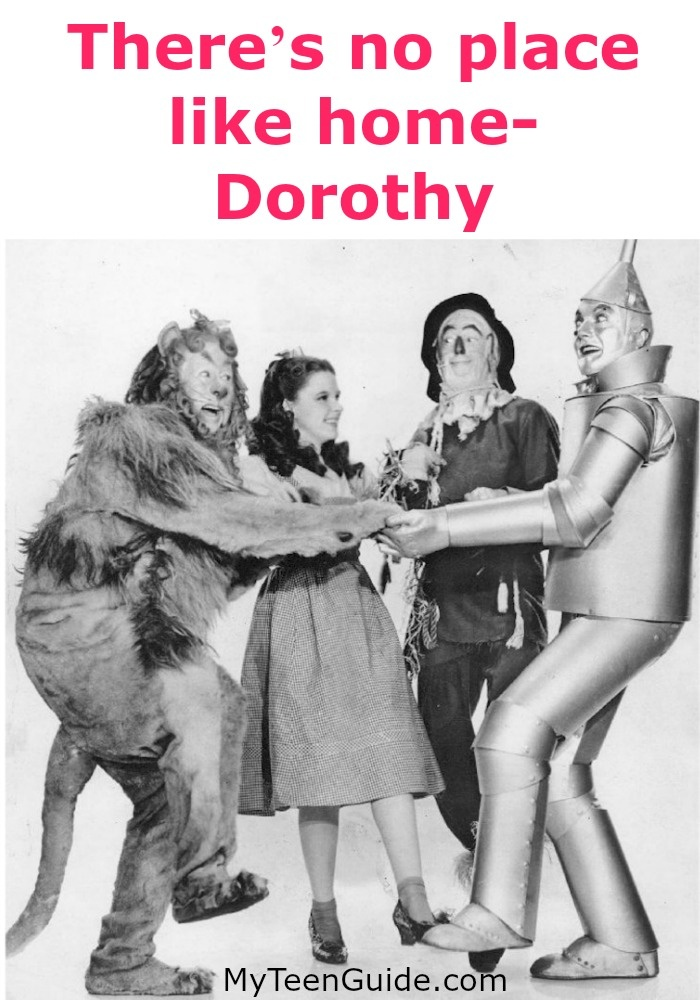 Fanous Movie Quotes: Theres No Place Like Home - Dorothy - The Wizard Of Oz