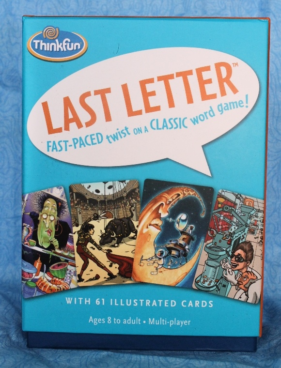 Think Fun's Last Letter Game for Kids is Unique Educational Fun