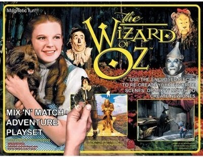 5 Fun Wizard of Oz Toys : Wizard of Oz Mix 'N' Match Magnetic Adventure Set: