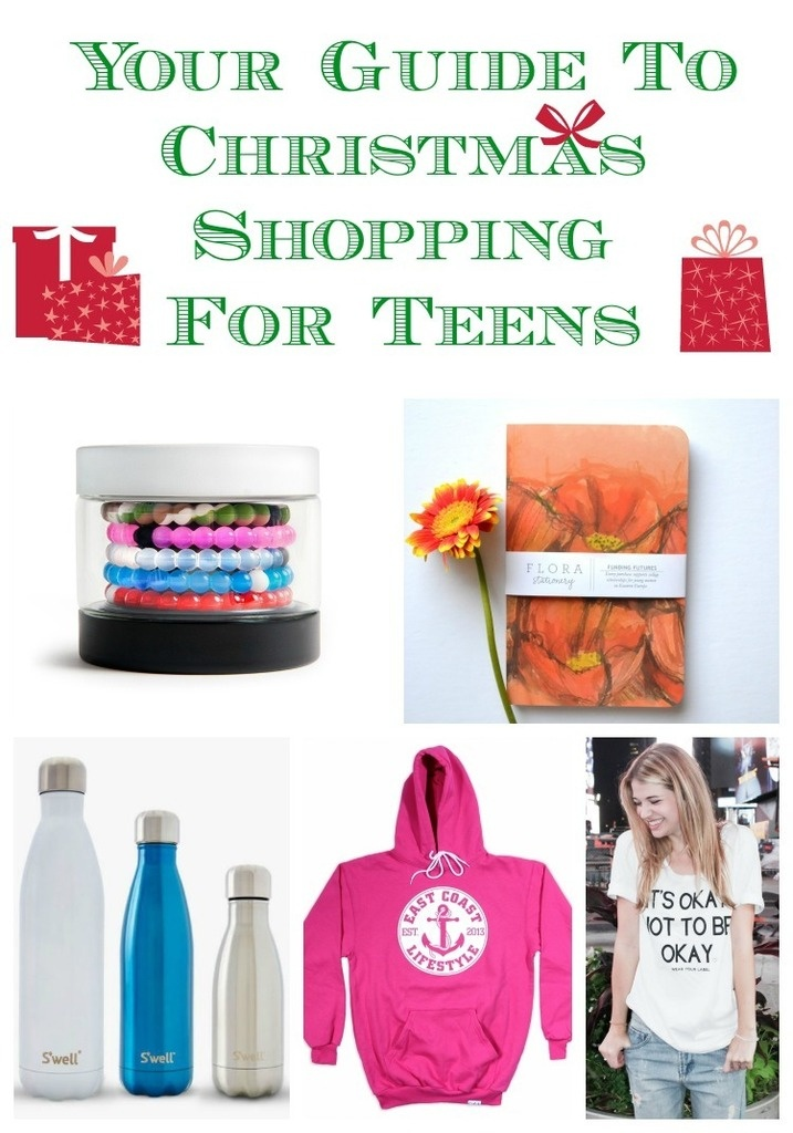 It's time to start your Christmas shopping! Teens can be difficult to buy for sometimes but check out our gift guide - there's something for everyone!