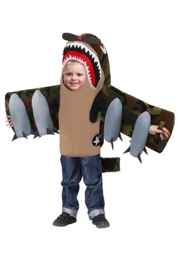 American Fighter Plane Toddler Costume