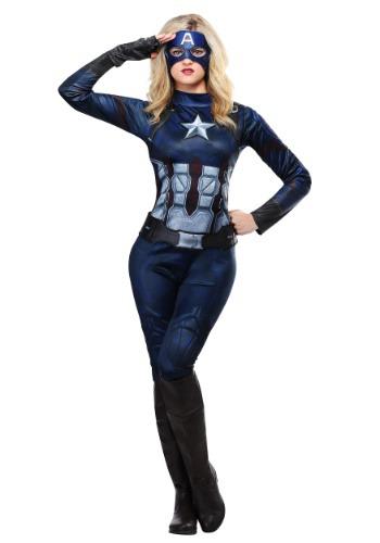 Marvel Captain America Women's Costume