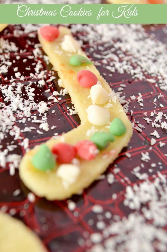 Edible Christmas Crafts for Kids: Christmas Cookies