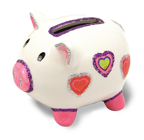 Decorate Your Own Piggy Bank from Melissa & Doug Easter Shop