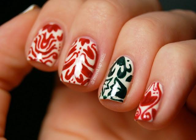 Insanely Stunning & Festively Fun Christmas Nail Art Ideas