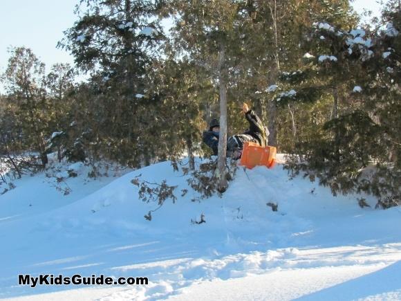 Fun Winter Activities for Kids- Build an Igloo!