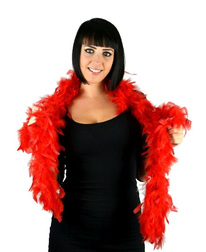 Roaring 20s Prom Night Party Ideas: Feather Boa