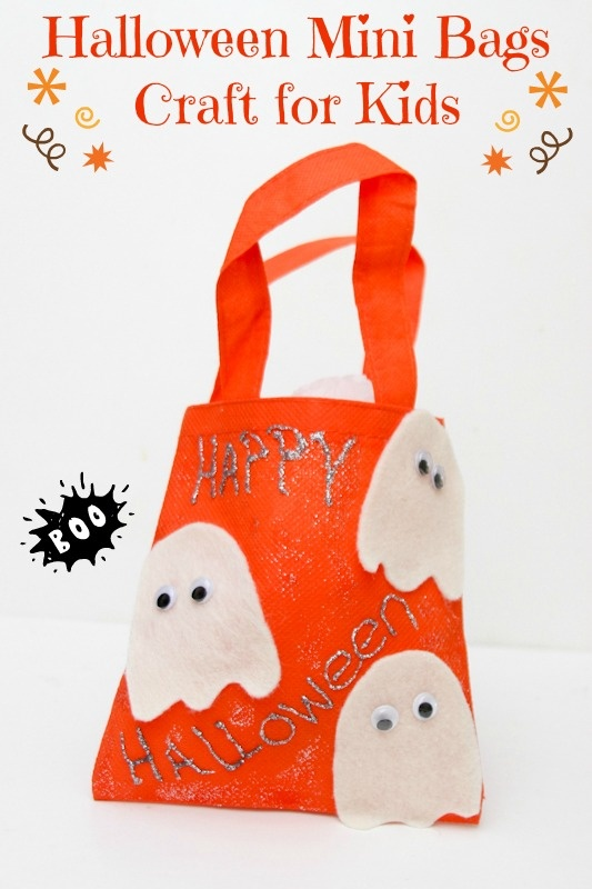 Scare up Some Fun With Mini Halloween Bags Craft for Kids |MyKidsGuide
