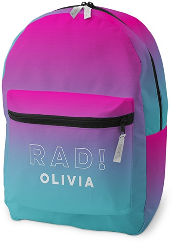 Active Gradient Backpack byShutterfly