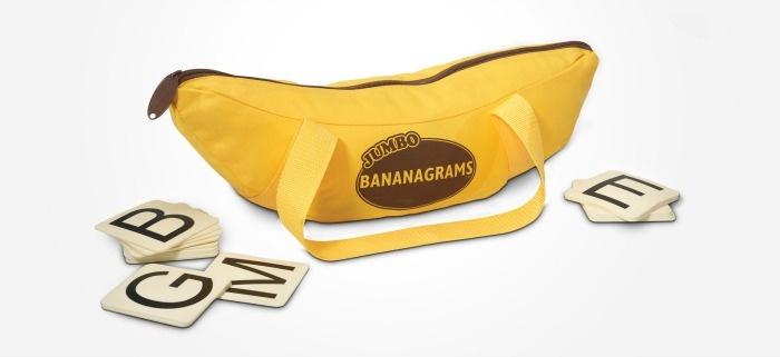 Backyard Summer Party Games: Jumbo Bananagrams