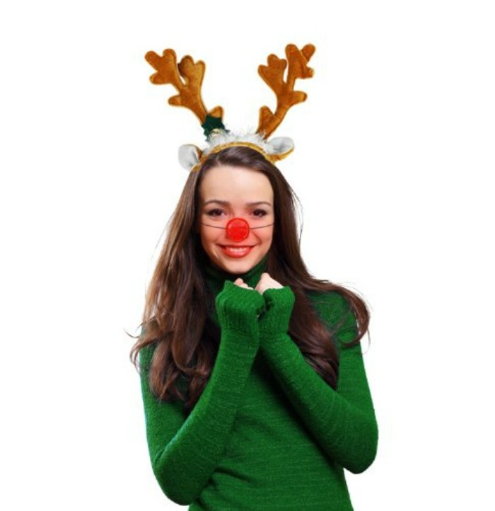 7 Glow In The Dark Christmas Party Ideas That Will Make You Want To Rock Around The Tree: Glowing Reindeer Nose