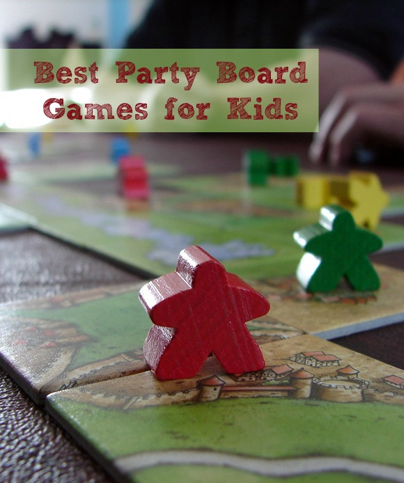 Check out the best party board games for kids, perfect for those times when your party gets rained out!