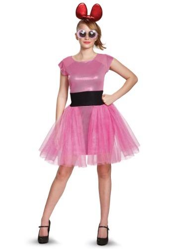 Women's Powerpuff Girls Blossom Deluxe Costume