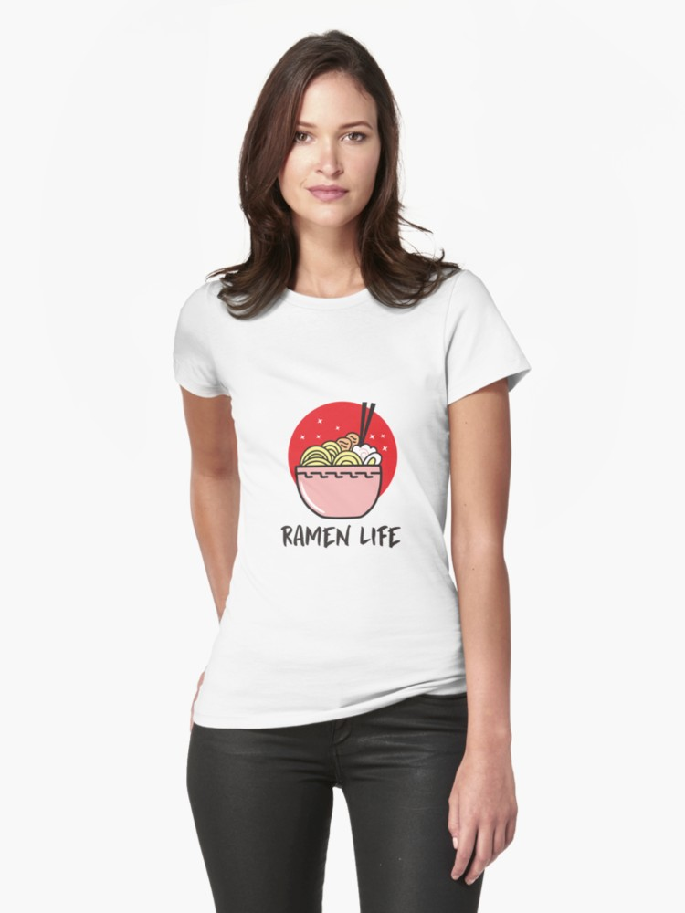 'Ramen Life T Shirt | Tasty Anime Noodle Bowl' T-Shirt by Dogvills
