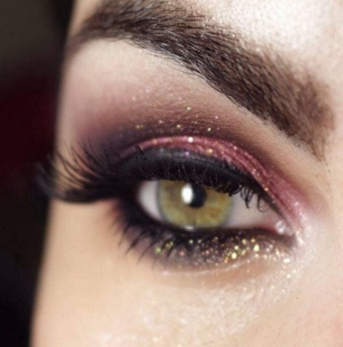 New Year's Eve Makeup
