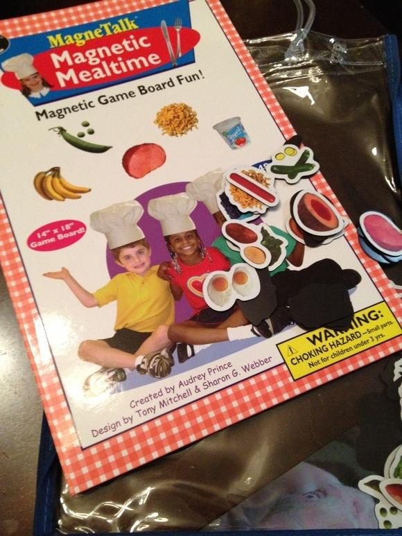 Magnetic Mealtime Educational Toys for Kids at Super Duper