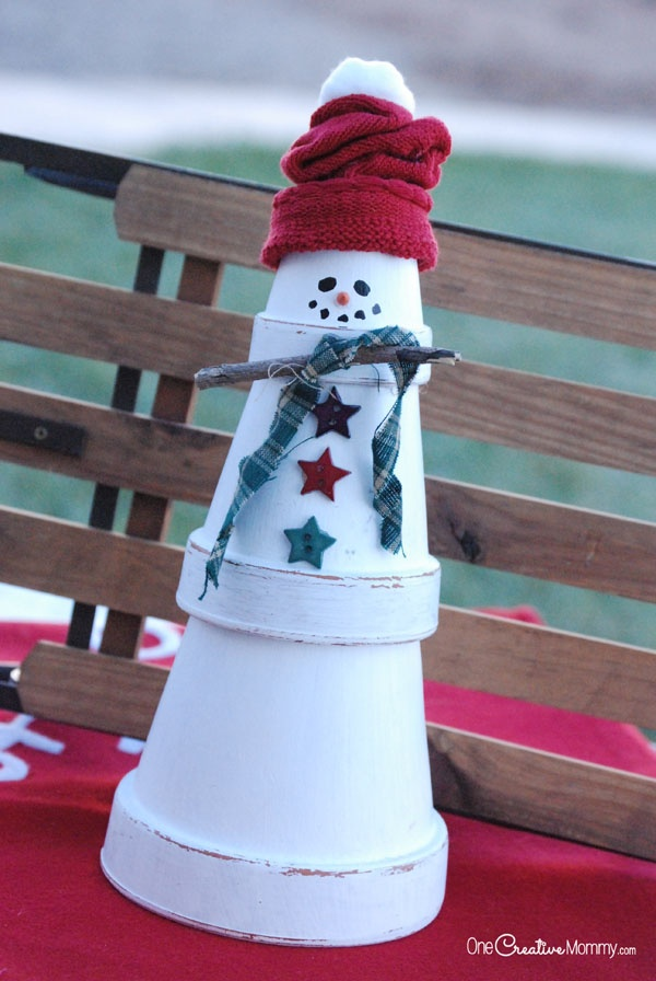 Easy Snowman Winter Crafts for kIds